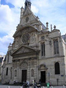 edificios religiosos en paris-ST-ETIENNE-DU-MONT
