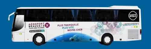 bus beauvais llegar a paris