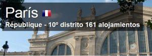 donde dormir distrito 10 paris