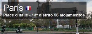 donde dormir distrito 13 paris