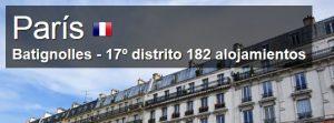 donde dormir distrito 17 paris