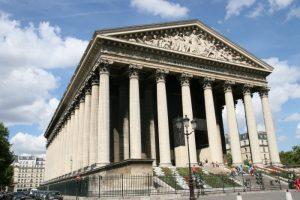edificios religiosos en paris la-madeleine