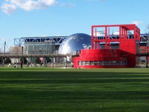 plazas jardines y parques de paris parc-de-la-villette