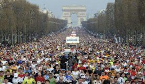 eventos y dias festivos en paris maraton