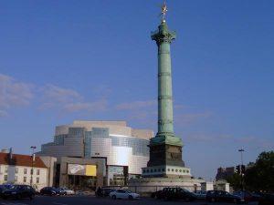 plazas jardines y parques de paris place-bastille