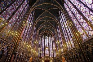 edificios religiosos en paris saint-chapelle