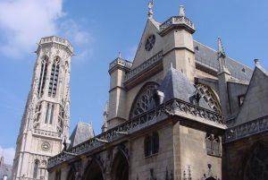 edificios religiosos en paris-germain-auxerrois