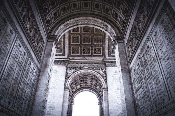 arco de triunfo interior